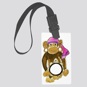 Gypsy Monkey Large Luggage Tag