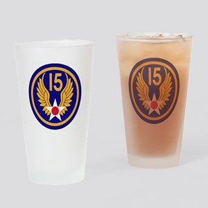 15TH AAF Drinking Glass