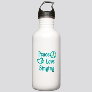 Peace Love Singing Stainless Water Bottle 1.0L