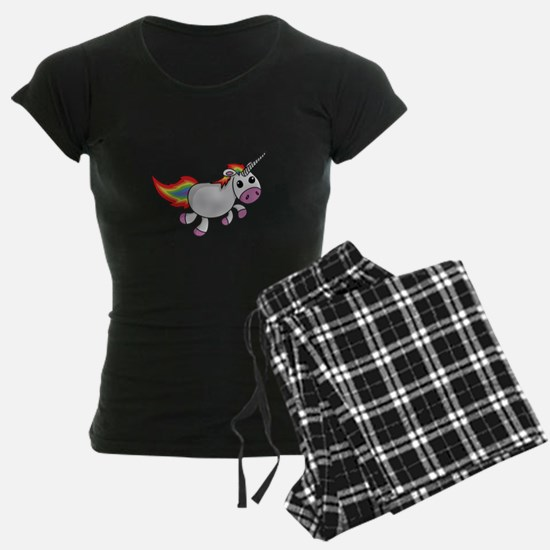 Cute Cartoon Unicorn Pajamas