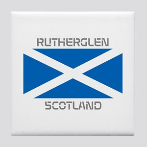 Rutherglen Scotland Tile Coaster