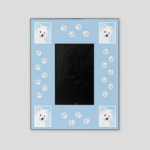 American Eskimo Dog Picture Frame