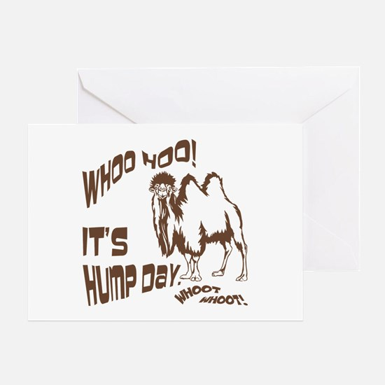 It's Hump Day Camel Greeting Card