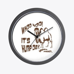 It's Hump Day Camel Wall Clock