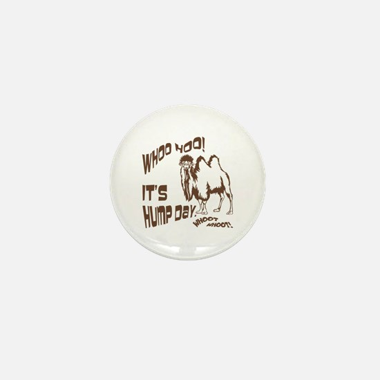 It's Hump Day Camel Mini Button (10 pack)