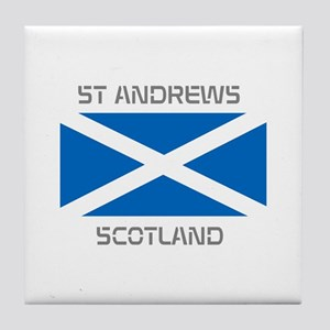 St Andrews Scotland Tile Coaster