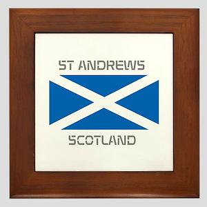 St Andrews Scotland Framed Tile