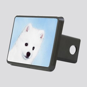 American Eskimo Dog Rectangular Hitch Cover