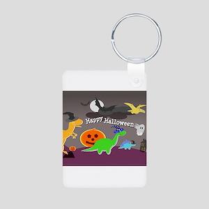 Happy Halloween Dinosaurs Kids Keychains