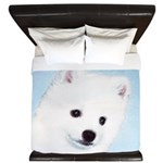 American Eskimo Dog King Duvet