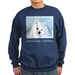 American Eskimo Dog Sweatshirt (dark)