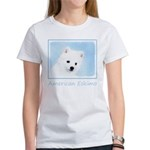 American Eskimo Dog Women's Classic White T-Shirt