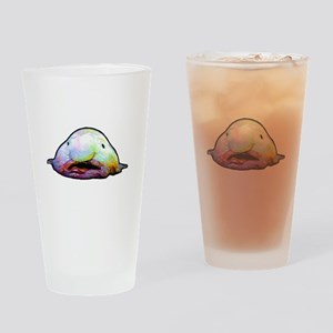 Blobfish, Psychrolutes marcidus Drinking Glass