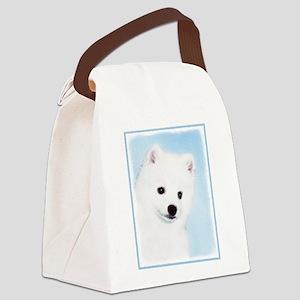 American Eskimo Dog Canvas Lunch Bag