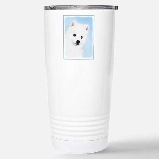 American Eskimo D Travel Mug