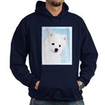 American Eskimo Dog Hoodie (dark)