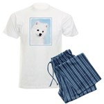 American Eskimo Dog Men's Light Pajamas