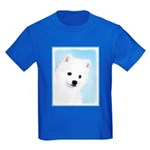 American Eskimo Dog Kids Dark T-Shirt