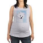 American Eskimo Dog Maternity Tank Top