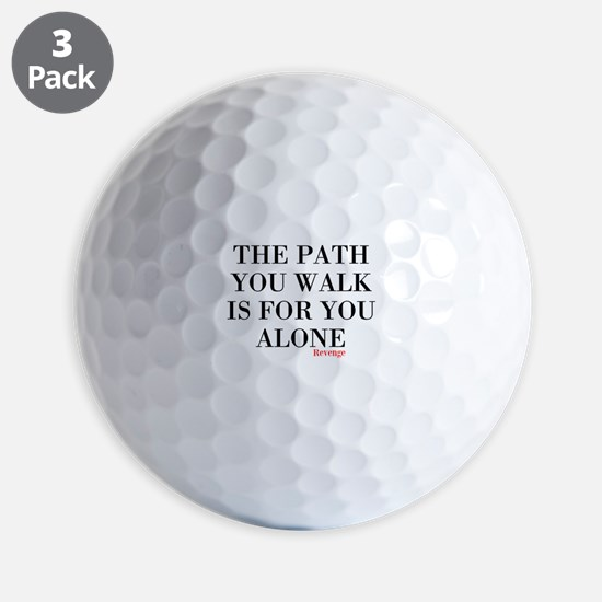The Path Golf Ball