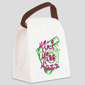 MINI MISS MAXX Canvas Lunch Bag