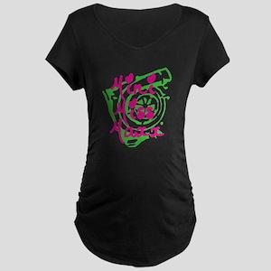 MINI MISS MAXX Maternity Dark T-Shirt