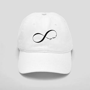 Infinity Word CUSTOM TEXT Baseball Cap 2ae68352a36