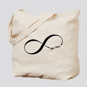 Infinity Word CUSTOM TEXT Tote Bag