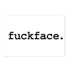 fuckface. Postcards (Package of 8)