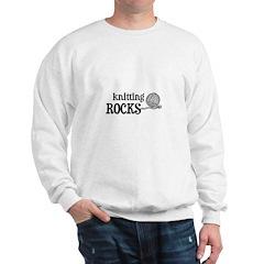 Knitting Rocks Sweatshirt