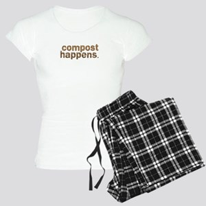 Compost Happens Women's Light Pajamas