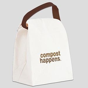 Compost Happens Canvas Lunch Bag
