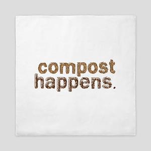 Compost Happens Queen Duvet