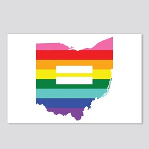Ohio equality Postcards (Package of 8)