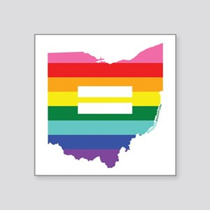 Ohio equality Sticker