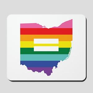 Ohio equality Mousepad