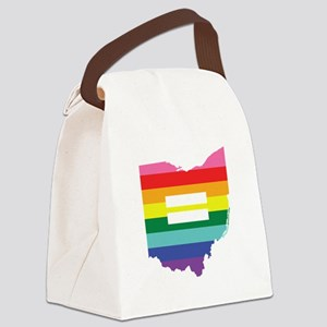 Ohio equality Canvas Lunch Bag