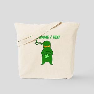 Custom Irish Ninja Tote Bag