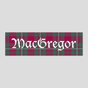 Tartan - MacGregor 36x11 Wall Decal