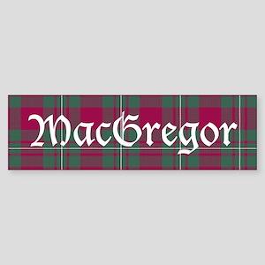 Tartan - MacGregor Sticker (Bumper)