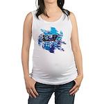 Snowmobile GUY Maternity Tank Top