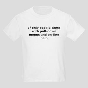 Online Help Kids T-Shirt