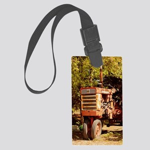 She Thinks My Tractors Sexy Large Luggage Tag