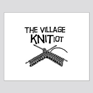 The Village KNITiot Small Poster
