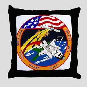 STS-57 Endeavour Throw Pillow