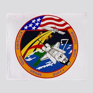STS-57 Endeavour Throw Blanket