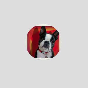 Ruthie the Boston Terrier Mini Button