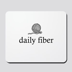 Daily Fiber - Yarn Ball Mousepad