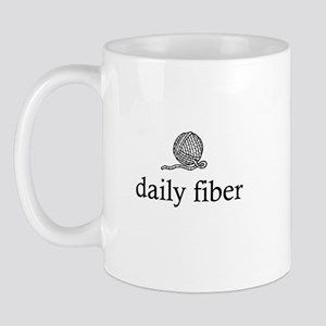 Daily Fiber - Yarn Ball Mug