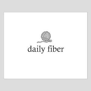 Daily Fiber - Yarn Ball Small Poster